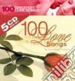 100% LOVE SONGS/21 romantic songs cd musicale di ARTISTI VARI