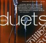 100% duets cd musicale di Artisti Vari
