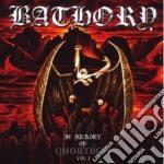 IN MEMORY OF QUORTHON VOL.1               cd musicale di BATHORY