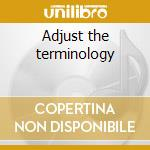 Adjust the terminology cd musicale di Order Scattered