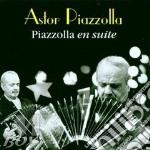 PIAZZOLLA EN SUITE cd musicale di PIAZZOLLA ASTOR