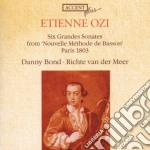 Etienne Ozi - Six Grandes Sonates cd musicale