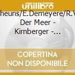 Flute sonatas cd musicale di Kirnberger johann ph.