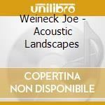 Weineck Joe - Acoustic Landscapes cd musicale di Joe Weineck