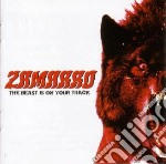 Zamarro - The Beast Is On Your Tra cd musicale di Zamarro
