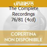 THE COMPLETE RECORDINGS 76/81 (4CD) cd musicale di FUNKADELIC