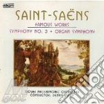 Famous works syn.3 organ syn. cd musicale di Saint-saens