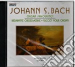 Organ favorites cd musicale di Bach