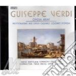 Opera arias cd musicale di Giuseppe Verdi