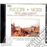 Famous opera highlights cd musicale di Puccini-verdi