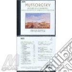 Pictures at exibition cd musicale di Mussorgsky