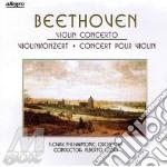 Violin concerto cd musicale di Beethoven