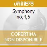 Symphony no,4,5 cd musicale di Mendelssohn
