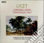Listz cd musicale di Poems Symphonic