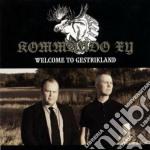 Kommando Xy - Welcome To Gestrikland cd musicale di Xy Kommando