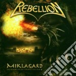 Rebellion - Miklagard cd musicale di REBELLION