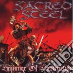 Sacred Steel - Hammer Of Destruction cd musicale di Steel Sacred