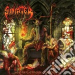 Sinister - The Carnage Ending cd musicale di Sinister