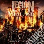 (LP VINILE) Descent into chaos lp vinile di LEGION OF THE DAMNED