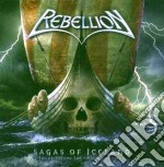 Rebellion - Sagas Of Iceland cd musicale di REBELLION