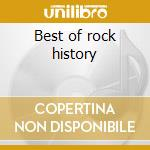 Best of rock history cd musicale