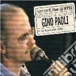 Gino Paoli - Live A Rtsi cd musicale di Gino Paoli