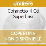 COFANETTO 4 CD SUPERBASI cd musicale di BASI MUSICALI