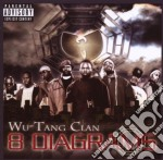 8 DIAGRAMS  ( CD + DVD) cd musicale di WU TANG CLAN