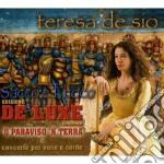 SACCO E FUOCO  (DELUXE EDIT.) cd musicale di DE SIO TERESA