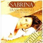 Erase / Rewind. Official Remix (2 CD) cd musicale di Sabrina Saleron