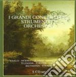 GRANDI CONCERTI PER STRUMENTO E ORCHESTR  cd musicale di Artisti Vari