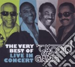 The very best of-live in concert cd musicale di KOOL & THE GANG
