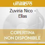 Ellas cd musicale di Nico Zuvitia