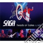 Saga - Heads Or Tales:live cd musicale di Saga