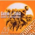 GIANTS OF PERCUSSION cd musicale di GUEM & ZAKA