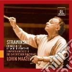 Stravinsky Igor - Sagra Della Primavera, L'uccello Di Fuoco cd musicale di Igor Stravinsky