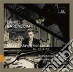 Concerto per pianoforte n.22 k 482, n.23 cd musicale di Wolfgang Amadeus Mozart