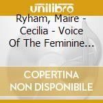 VOICE OF THE FEMININE SPIRIT cd musicale di CECILIA