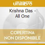 All one cd musicale di Das Krishna