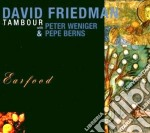 TAMBOUR (EARFOOD) cd musicale di FRIEDMAN DAVID