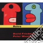Retro cd musicale di Friedman/peter David
