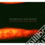 CARVED IN STIGMATA WOUNDS                 cd musicale di SECRETS OF THE MOON