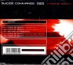 Suicide Commando - Face Of Death cd musicale di Commando Suicide