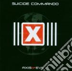 Suicide Commando - Axis Of Evil cd musicale di Commando Suicide