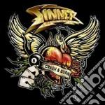 CRASH & BURN cd musicale di SINNER