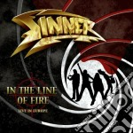 IN THE LINE OF FIRE cd musicale di SINNER