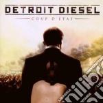Coup d'etat cd musicale di Diesel Detroit
