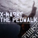 The sun, the cold and my underwater fear cd musicale di X marks the pedwalk