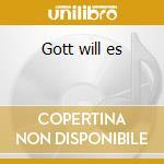 Gott will es cd musicale di Umbra et imago