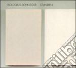 Roedelius Schneider - Stunden cd musicale di Schneider Roedelius